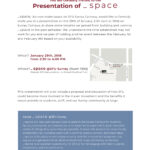 VIP Invitation for Presentation of _space